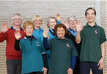 Offering a gift of health with tai chi